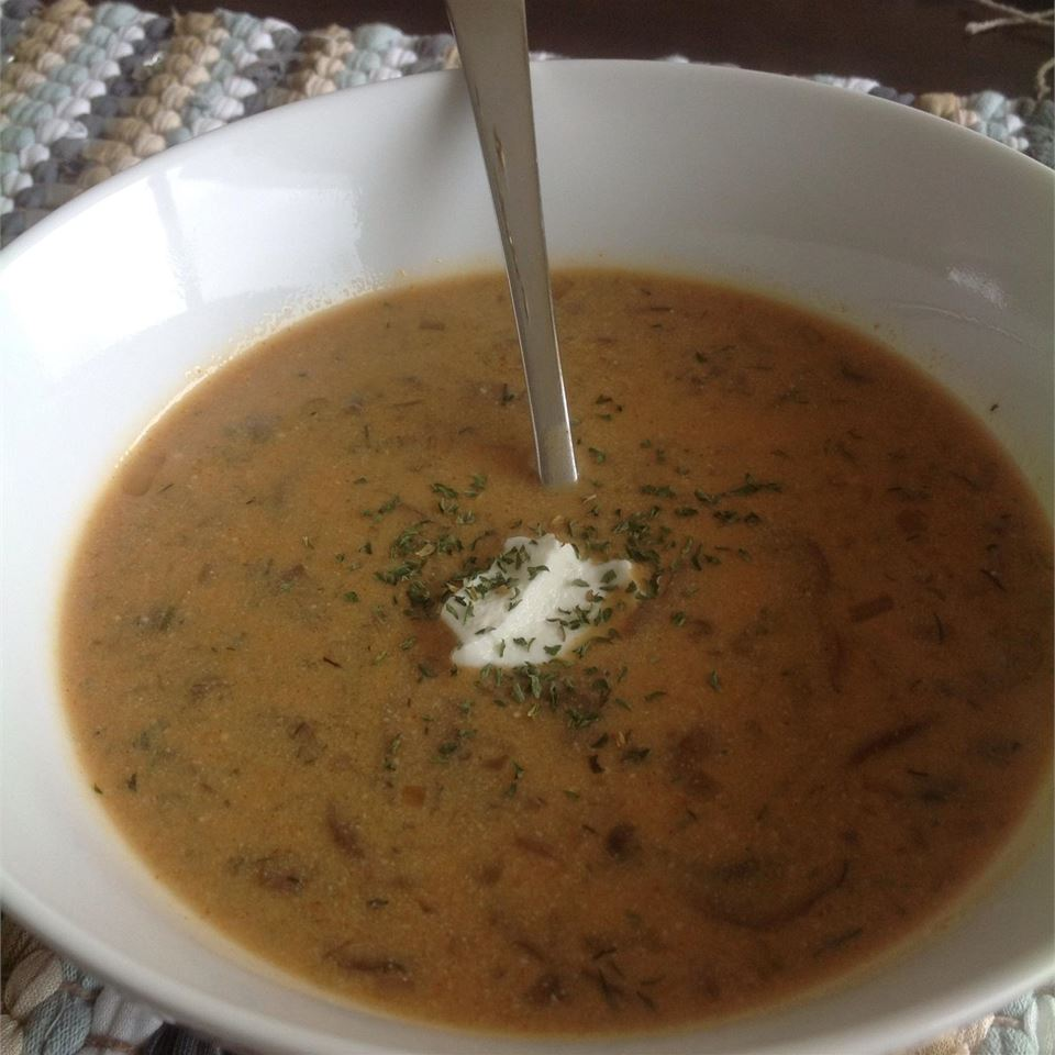 Hungarian Mushroom Soup Caitlin Perszyk