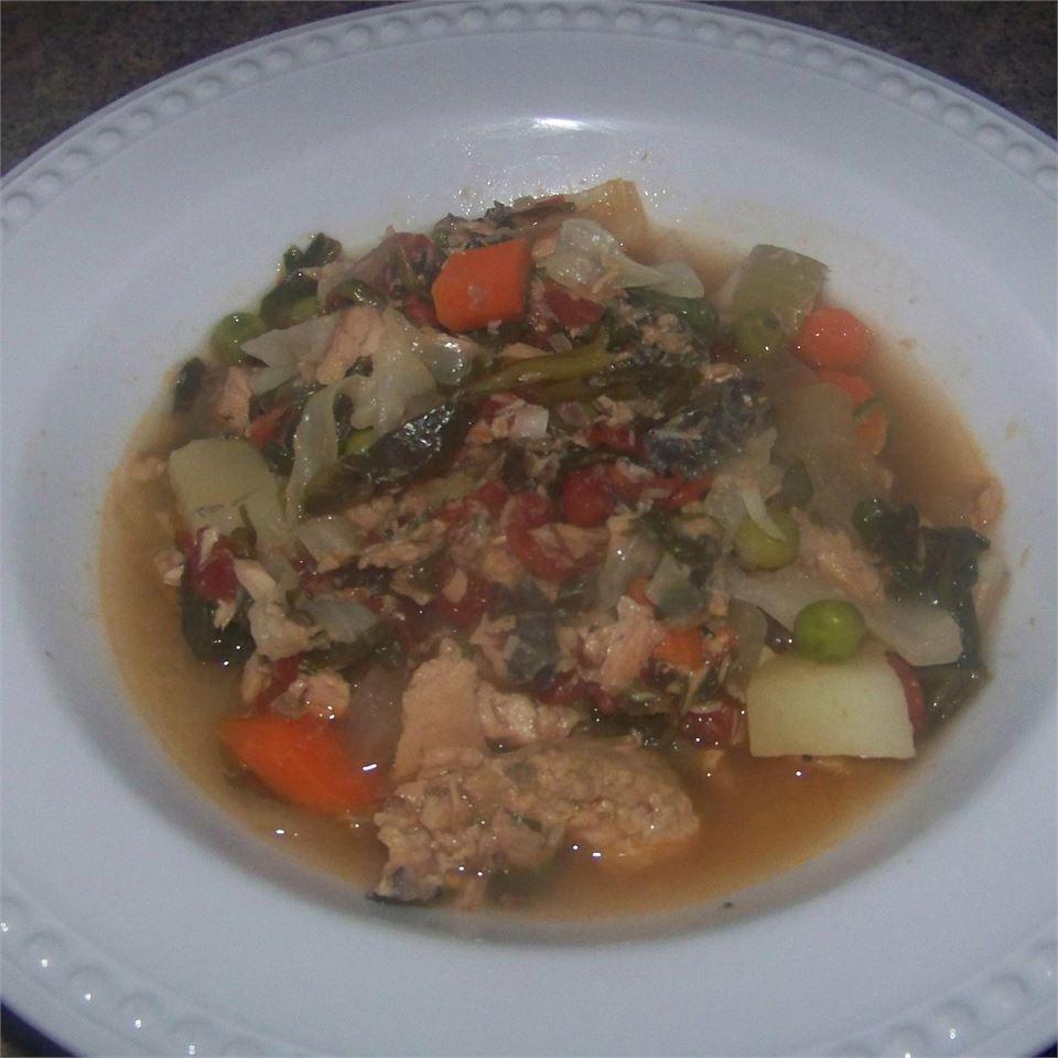 Salmon Stew (Abalos Style) veggielover