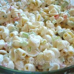 Creamy Conchiglie Pasta Salad