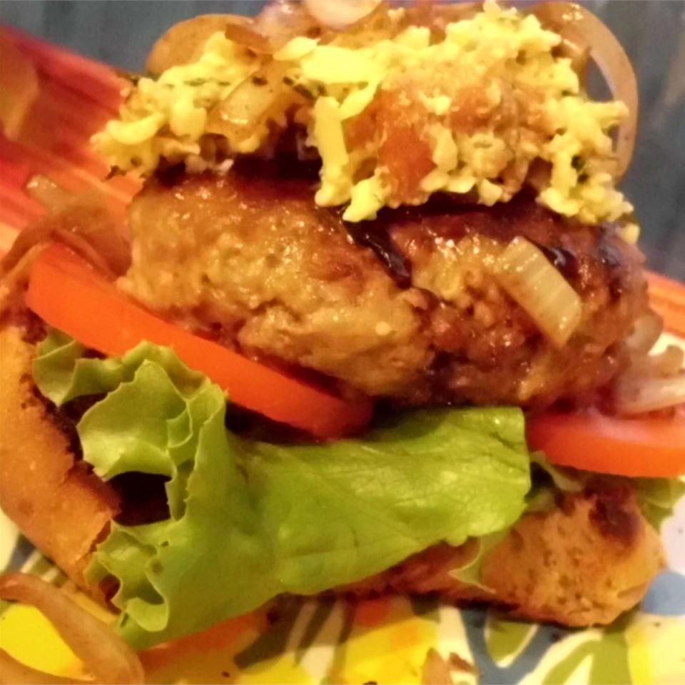 Bacon Gouda Patties