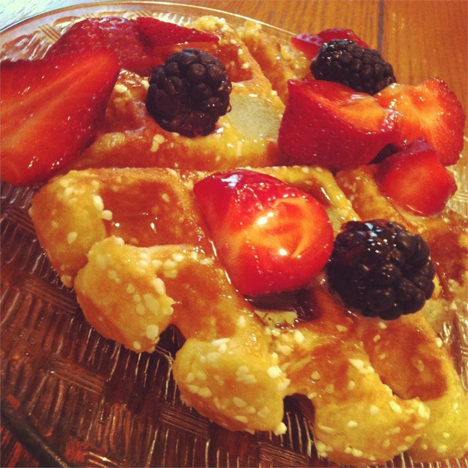 Liege Belgian Waffles with Pearl Sugar Chanda8711