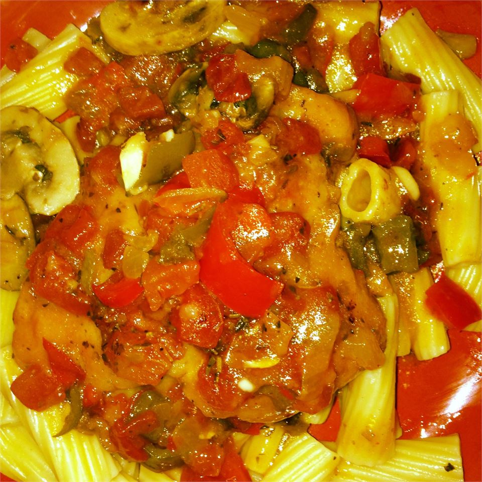 Mom's Chicken Cacciatore