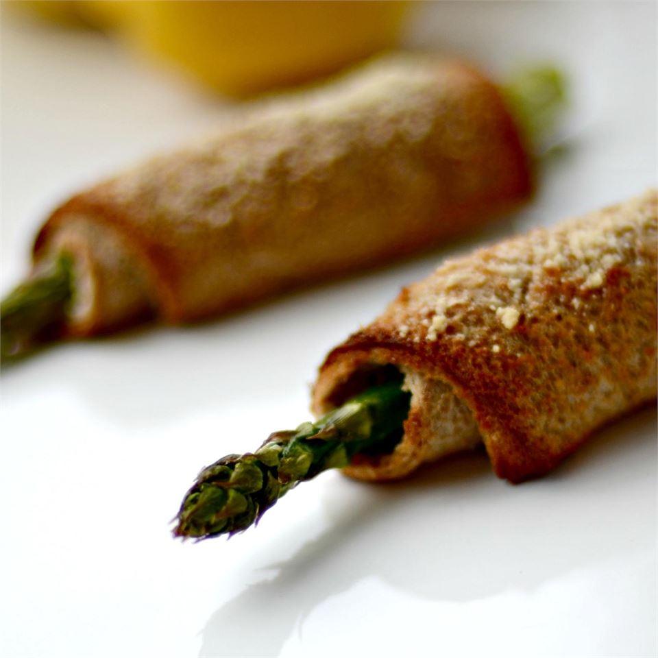 Asparagus Roll-Ups Baking Nana