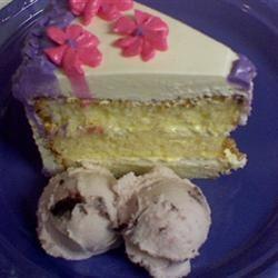 Lemon Chiffon Cake ~S~