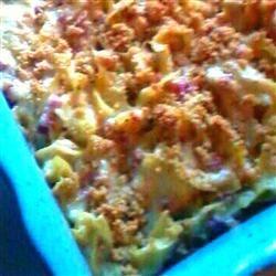 Creamy Chicken Cordon Bleu Casserole