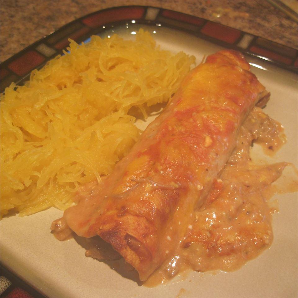 Pork Enchiladas pocowoman