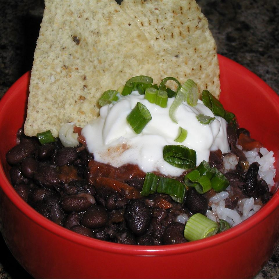 Quick Black Bean Soup lisa
