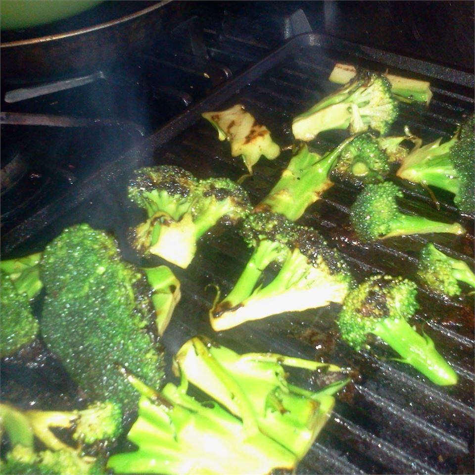 Grilled Broccoli--My Kids Beg for Broccoli Patty Cakes