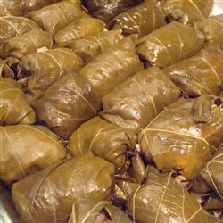 Dolmas (Stuffed Grape Leaves) CookinginFL