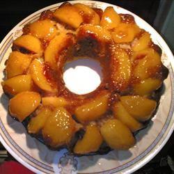 Peach Upside-Down Cake III Allanita