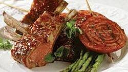 BBQ Roasted Rack of Lamb