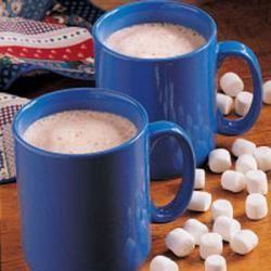 Fluffy Hot Chocolate