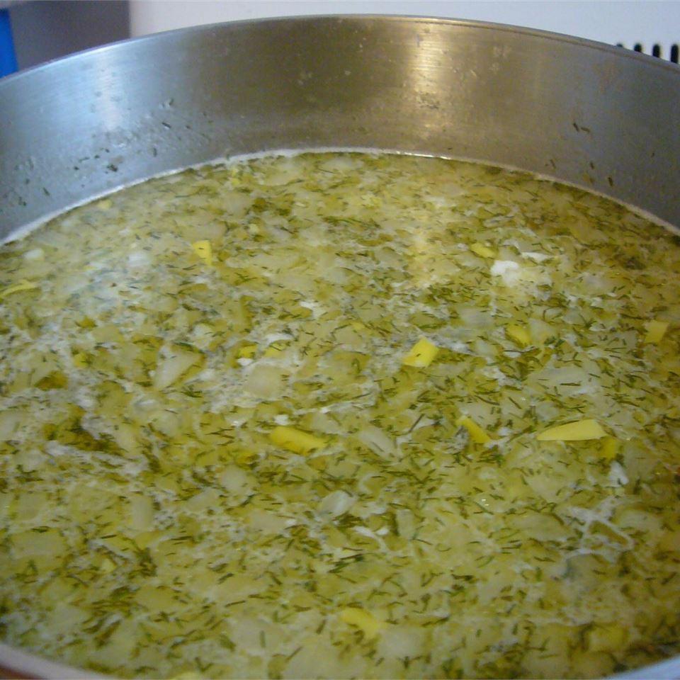 Polish Dill Pickle Soup Julie
