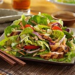 asian island grilled chicken salad recipe