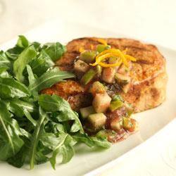 Wilted Arugula Pork Salad