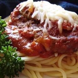 beef parmesan with garlic pasta recipe