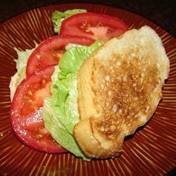 Quick Tomato Sandwich GodivaGirl