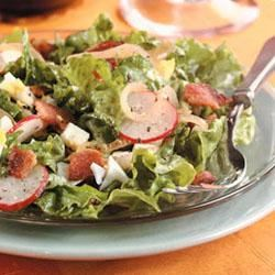 Lettuce with Hot Bacon Dressing Trusted Brands