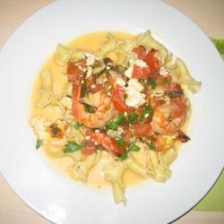Greek Shrimp Dish From Santorini Lisawas