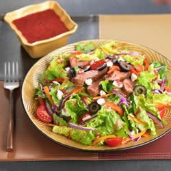 Blackened Steak Salad with Berry Vinaigrette Trusted Brands