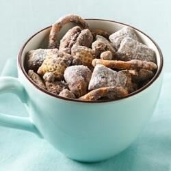 chocolate coffee toffee chex mix