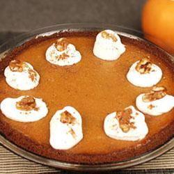 Gingersnap Pumpkin Pie Trusted Brands