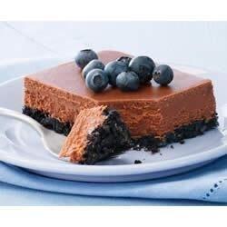 philadelphia double chocolate cheesecake recipe