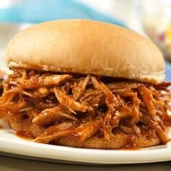 campbells slow cooked pulled pork sandwiches