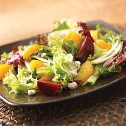Beet, Fennel and Mandarin Orange Salad