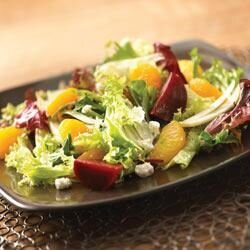 beet fennel and mandarin orange salad