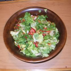 Strawberry Romaine Salad II BAMOM247