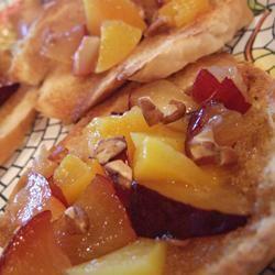 Sweet Summer Fruit Bruschetta user