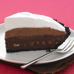 Triple Layer Chocolate Pie