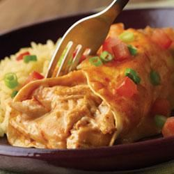 Campbell's® Easy Chicken and Cheese Enchiladas