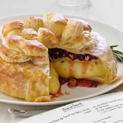 Dried Cherries, Pecans and Rosemary Brie en Croute Trusted Brands