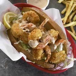 Shrimp Po' Boys