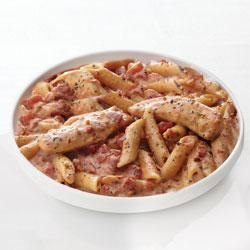 Creamy Parmesan and Sun-Dried Tomato Chicken Penne Trusted Brands