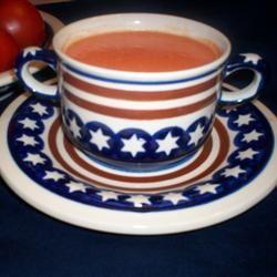 Cream of Fresh Tomato Soup Kathleen Harvey Stone