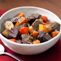 Beef Stew with Roasted Winter Vegetables Trusted Brands