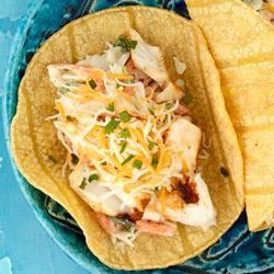 Baja Fish Tacos from KRAFT®