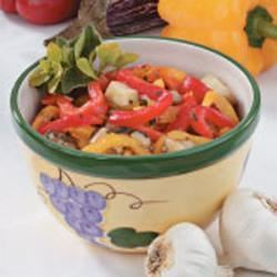 Eggplant Pepper Relish