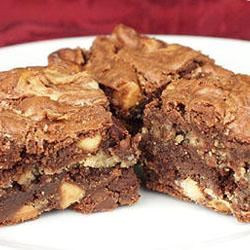 Peanut Butter Brownies I Trusted Brands