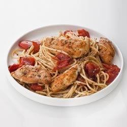 Sweet Basil and Oregano Bruschetta Chicken
