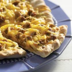 Breakfast Sausage Pizza