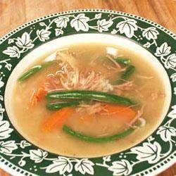 Aunt Wanda's Turkey Carcass Soup
