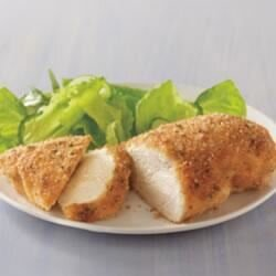 easy parmesan crusted chicken recipe