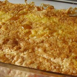 Peach Cobbler Dump Cake I Sarah Jo