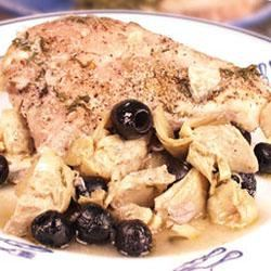 Artichoke and Black Olive Baked Chicken Trusted Brands