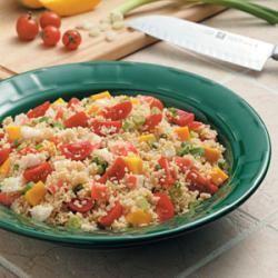 Crab Couscous Salad