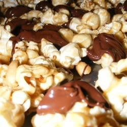 Caramel Chocolate Corn Momster